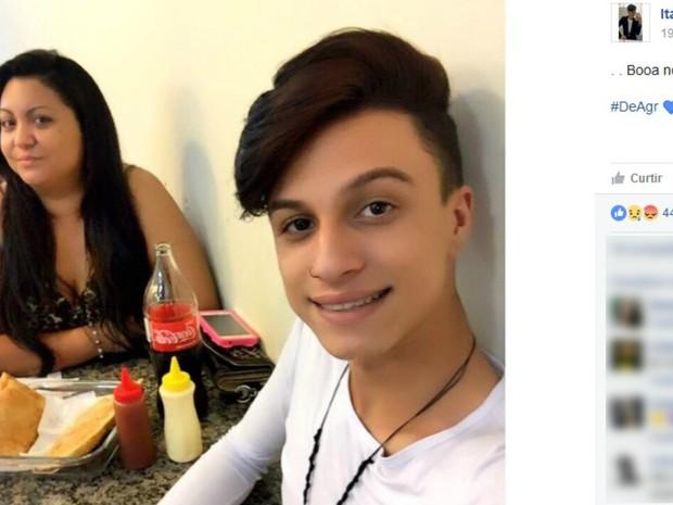 Itaberli Lozano mãe homofobia assassinato