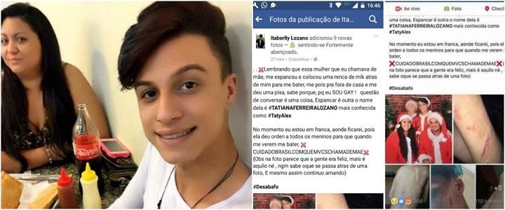 Itaberli Lozano gay mãe morte