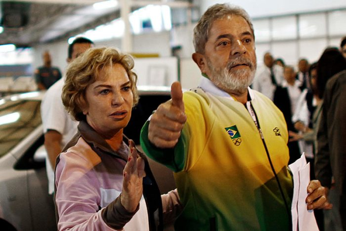 Dona Marisa Letícia AVC