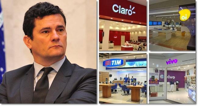 Sergio Moro teles bilhões escândalo corrupção
