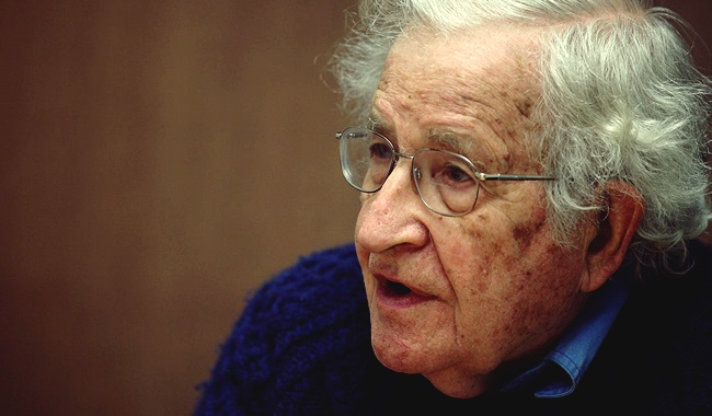 noam Chomsky socialismo era de reação eua cuba grécia