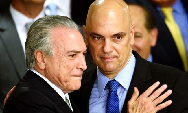 Alexandre de Moraes stf política psdb pmdb