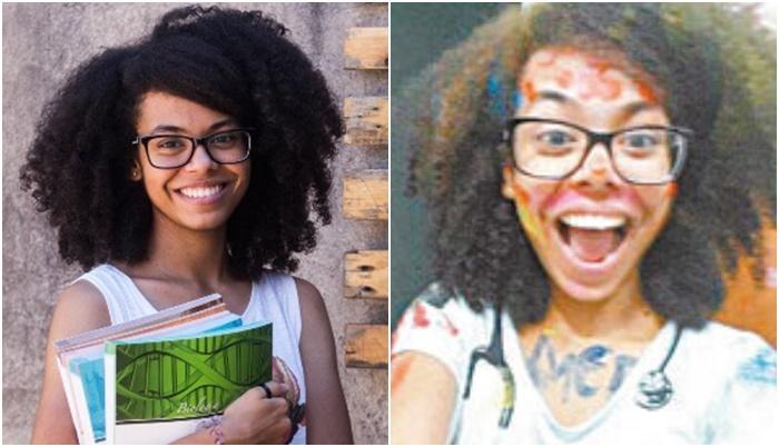 jovem Bruna Sena  1º lugar na USP medicina meritocracia é uma falácia