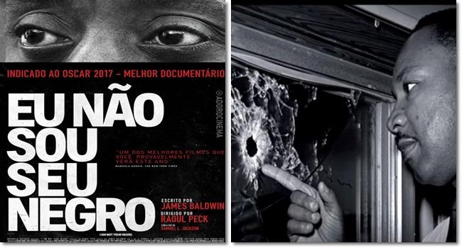 documentário Eu Não Sou Seu Negro brasil