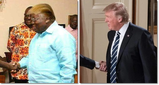 irmão donald trump áfrica Nyirongo Trump