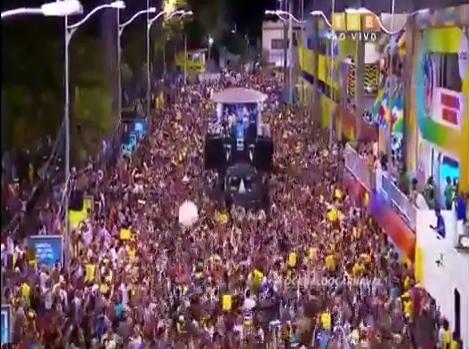 Fora Temer baiana system fora carnaval de Salvador