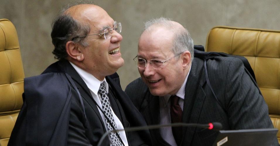 Gilmar Mendes Celso de Mello Lula