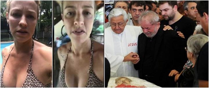 Luana Piovani atriz Lula Marisa