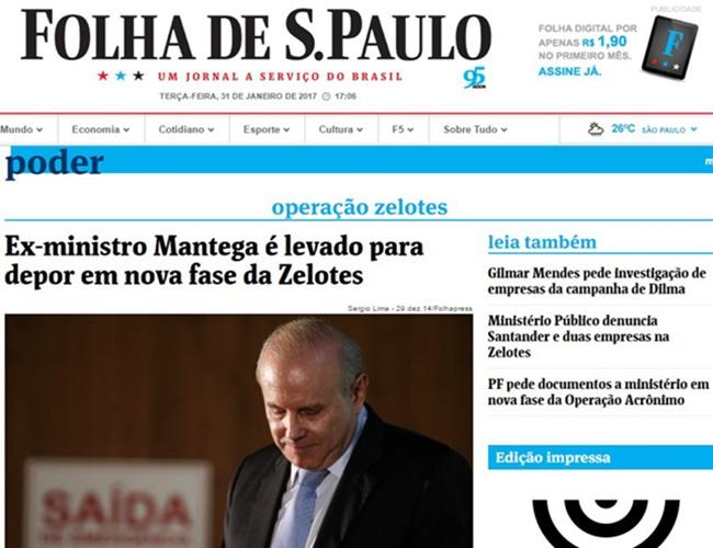 imprensa não destaca absolvição Guido Mantega