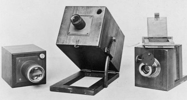 câmera escura negativo fotográfico antigo