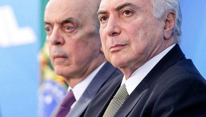 José Serra pede demissão fora do governo Temer