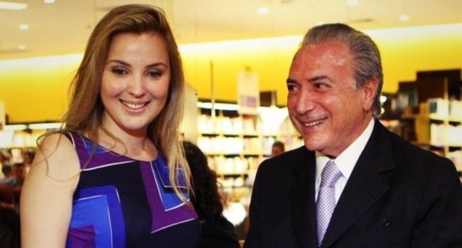 Marcela Michel Temer alvorada reforma polêmica luxo