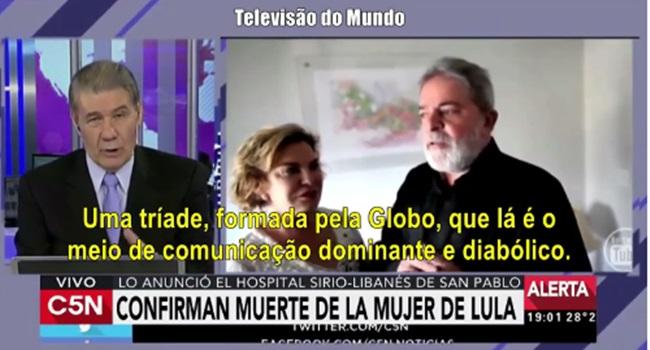 tv argentina globo diabólica golpista assassina