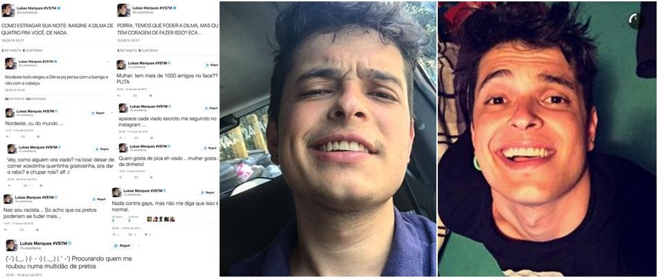 Youtuber financiado por Temer faz comentários racistas e homofóbicos lukas marques