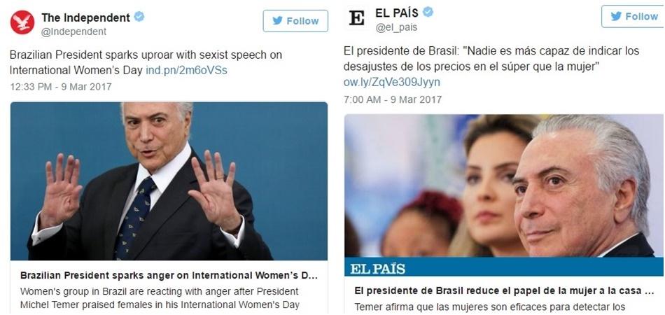 discurso de temer dia da mulher
