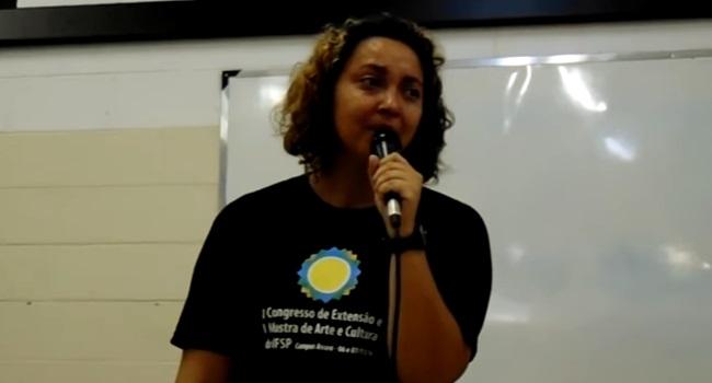 doutoranda negra fedida frases banheiro ifsp são paulo