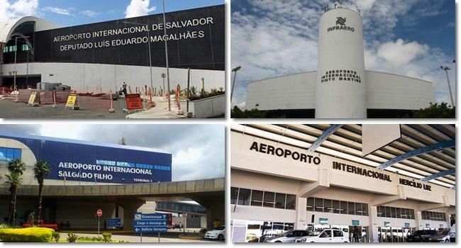 grupos europeus arrematam aeroportos bilhão governo