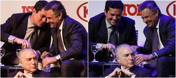 Sergio Moro Aécio Neves