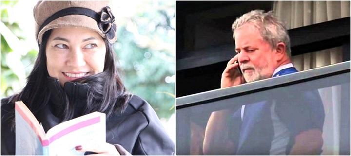 Elika Takimoto Professora recebe telefonema de Lula