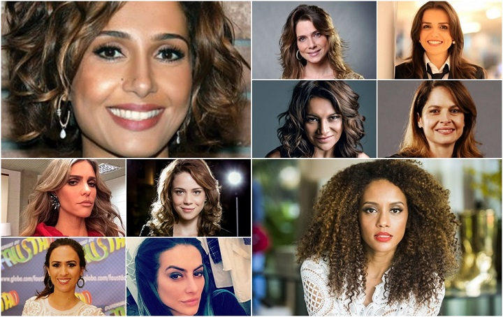 atrizes da Globo que repudiaram José Mayer