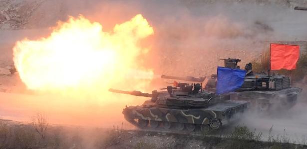 coreia do sul eua militar exercício
