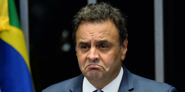 Aécio afirma que ação contra chapa de Dilma encher o saco TSE