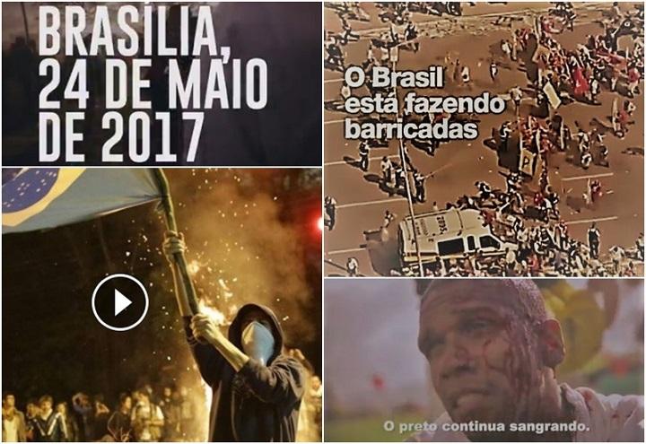 massacre 24 de maio brasília protesto