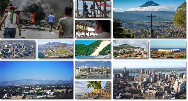 Cidades mais violentas mundo brasil natal
