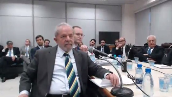 Lula depoimento Sergio Moro
