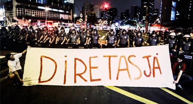 eleições diretas já fora temer ilusões política