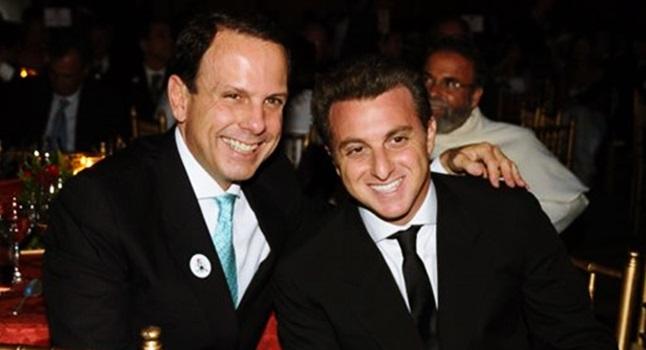 João Doria Junior Luciano Huck psdb eleiões 2018 presidente