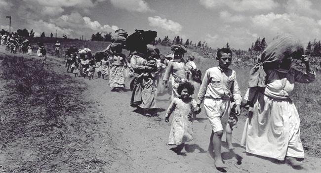 Israel promoveu limpeza étnica oriente médio palestinos