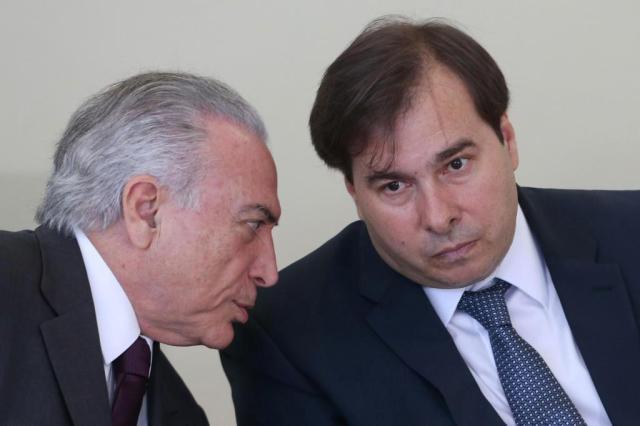 Michel Temer Rodrigo Maia Exército