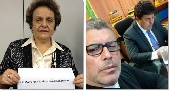 Ex-ministra condenada pagar alexandre frota estupro