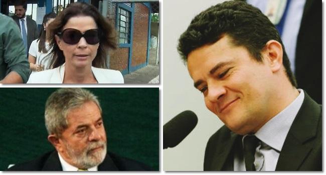 Critério de Sergio Moro para inocentar Cláudia Cruz eduardo cunha lula lava jato