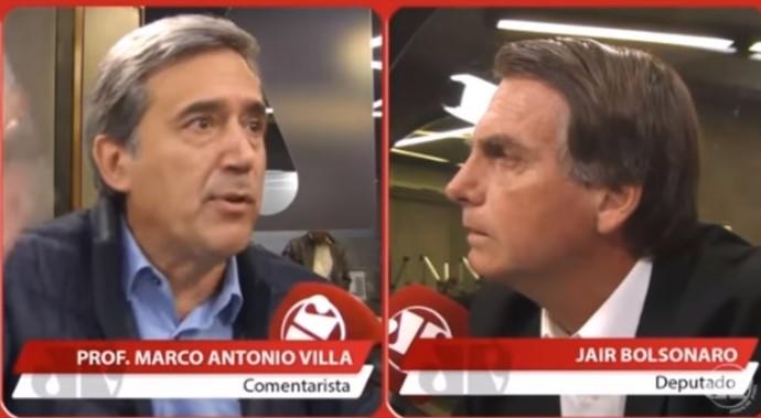 Marco Antonio Villa Jair Bolsonaro