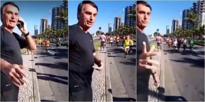 bolsonaro maratona rio de janeiro