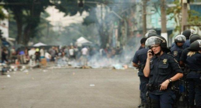cracolândia vícios doria alckmin PM violência internação