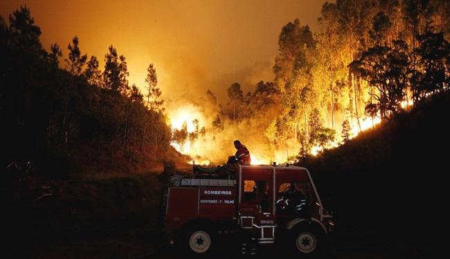 incêndio em Portugal imagem emocionou mundo