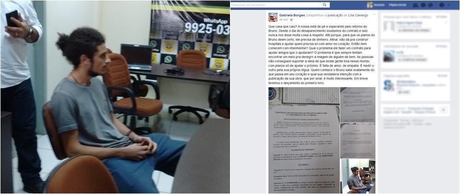Mistério desaparecimento de jovem do Acre Bruno livros preso
