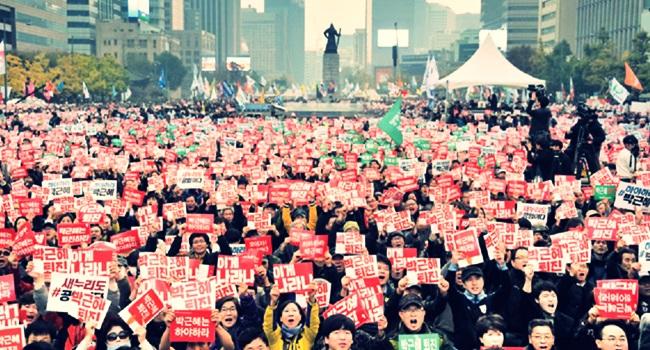 lições coreia do sul diretas já presidente
