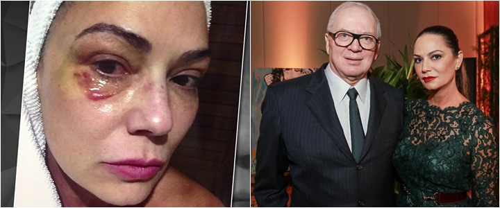 Luiza Brunet ex-namorado condenado
