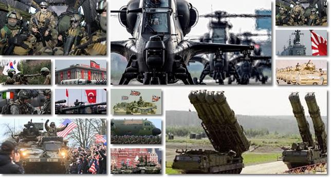 maiores potências militares mundo 2017 eua