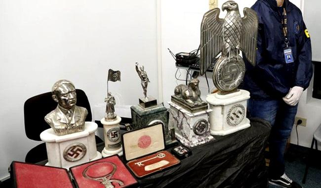 objetos nazistas encontrados buenos aries argentina hitler