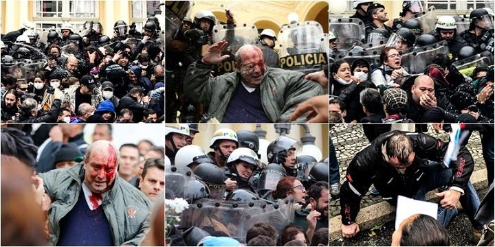 pacotaço greca massacre da pm curitiba