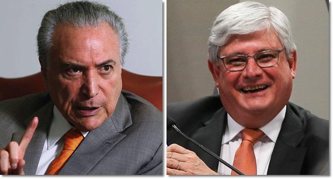 temer ataca janot rebate pronunciamento corrupção