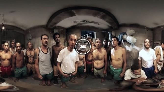 vídeo presídio brasileiro cela superlotada