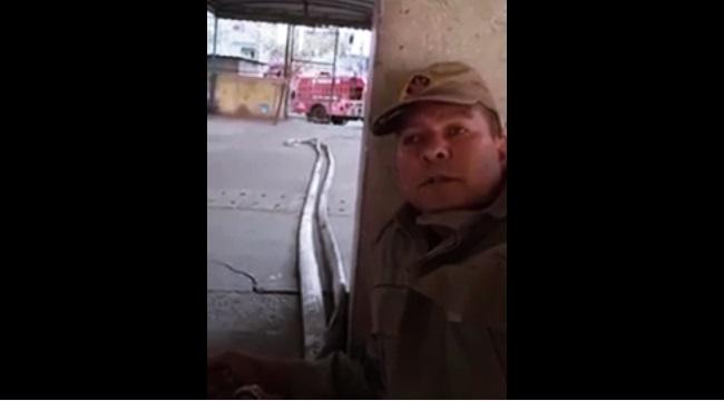 bombeiro preso grava vídeo tiroteio maré rio de janeiro