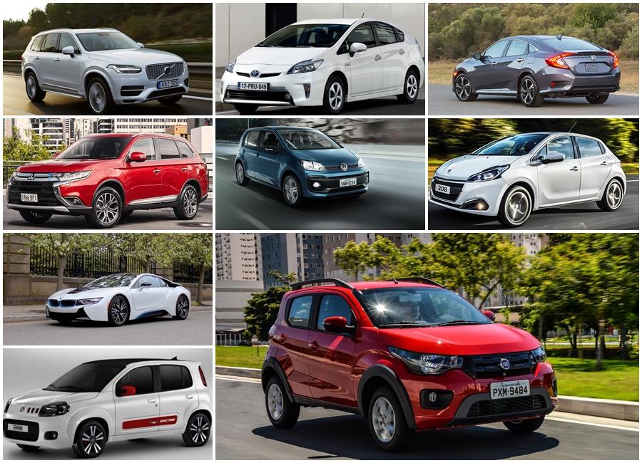 carros mais econômicos do Brasil