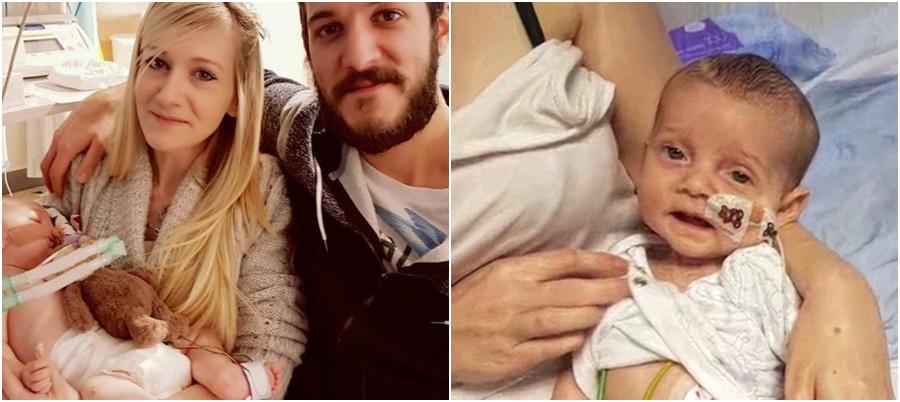 charlie gard bebê pais